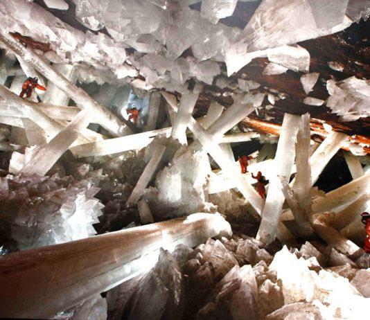 Grotte aux cristaux géants - Mine de Naica