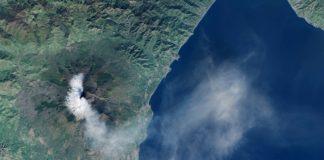 Eruption de l'Etna, décembre 2015