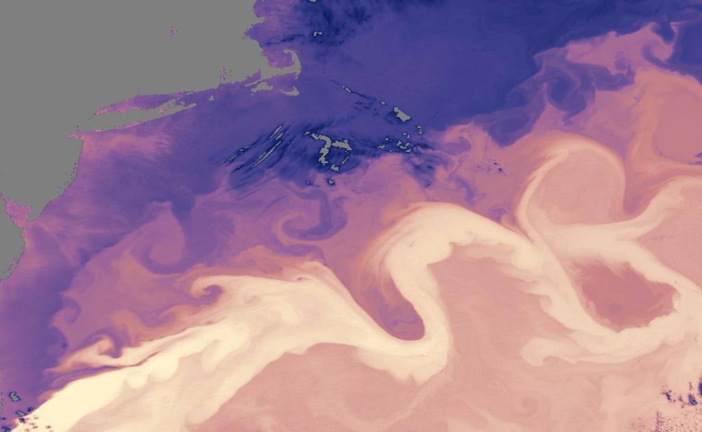 trajet gulf stream atlantique nord