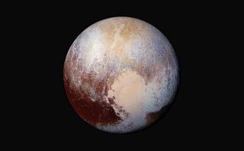 Vue globale de Pluton