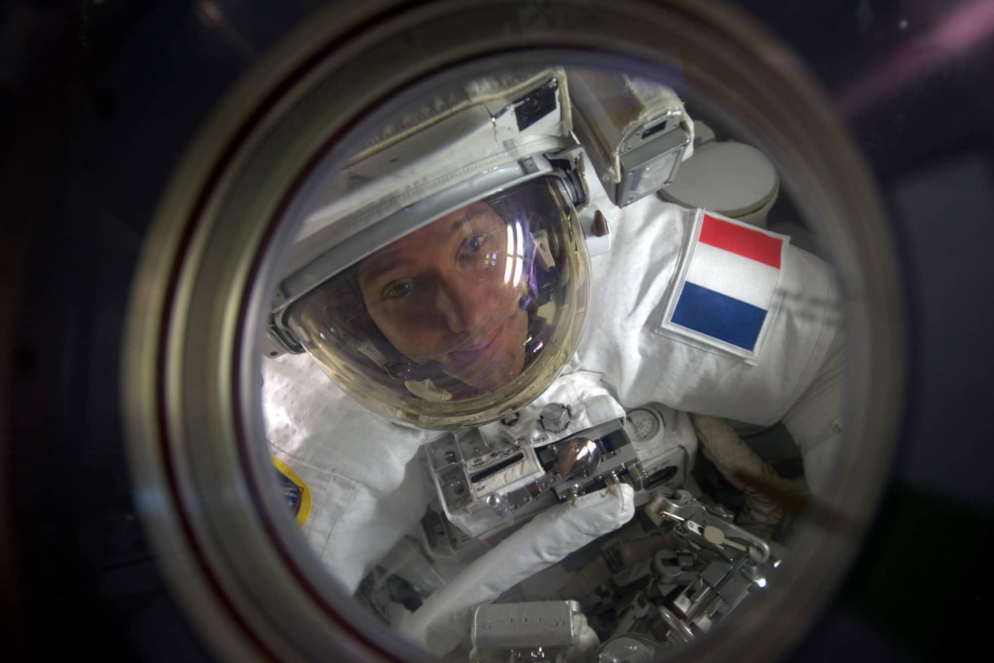 Thomas Pesquet ISS 2017