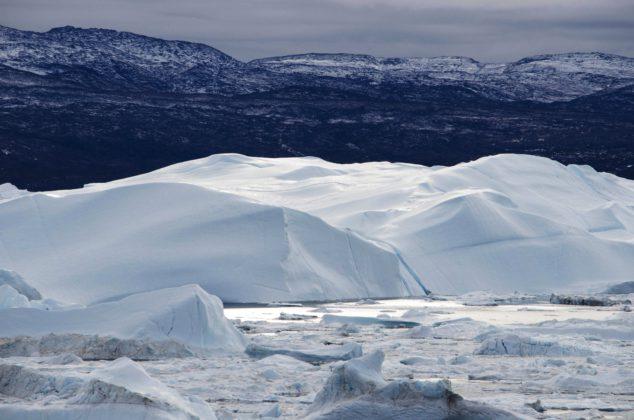 Fjord glacé d'Ilulissat - Groenland - Danemark