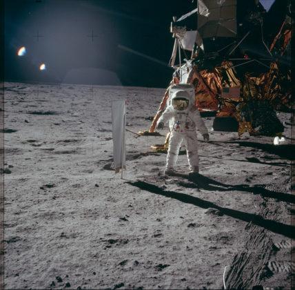 Aldrin et collecteur de particules du vnet solaire