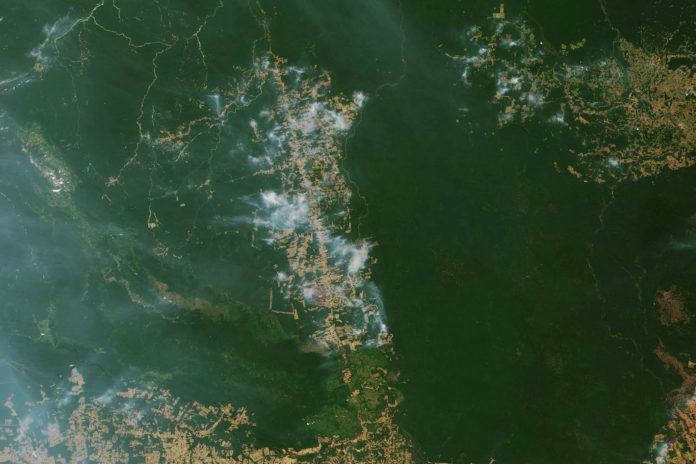 Incendies au Brésil 2019
