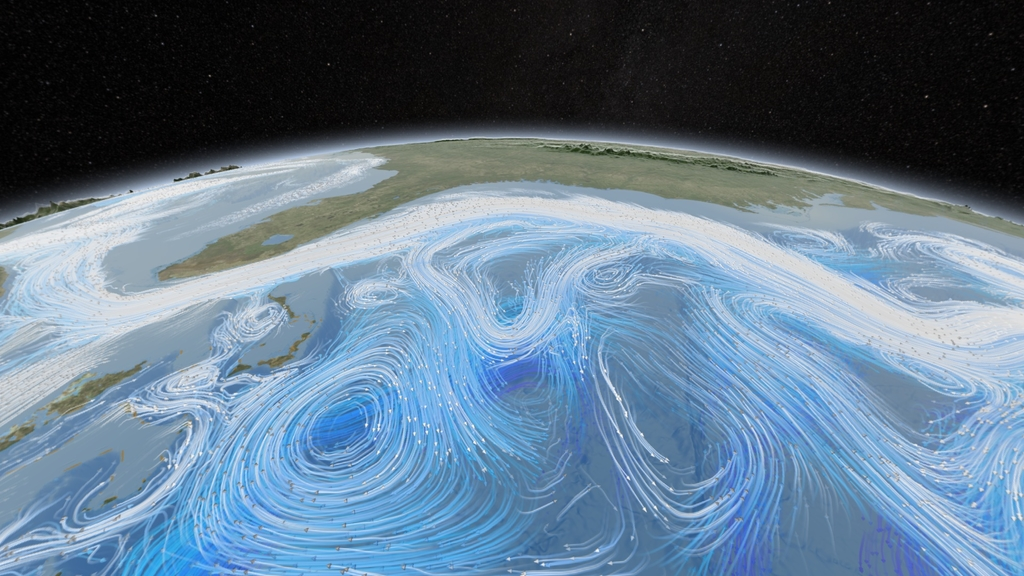 courants marins atlantique nord