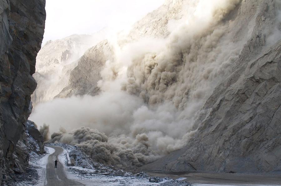 Glisement de terrain, Pakistan