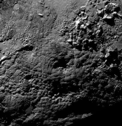 Cryovolcan sur Pluton