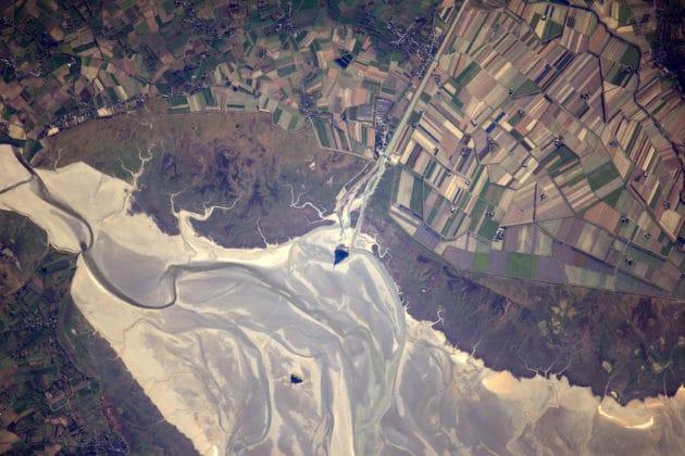 Baie du Mont Saint-Michel, Normandie, France