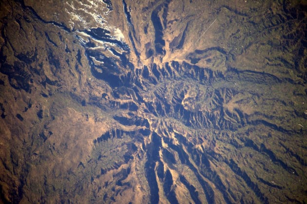 Volcans d'Auvergne, France