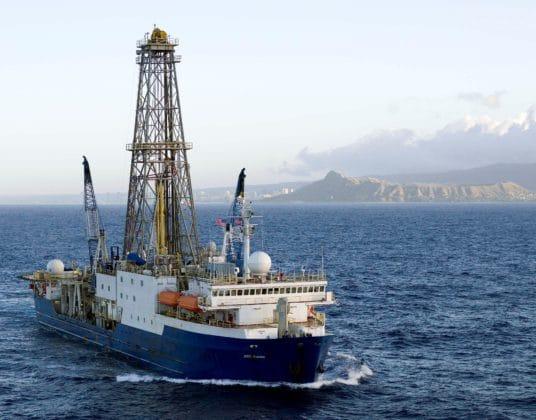 Forages scientifiques à Zealandia