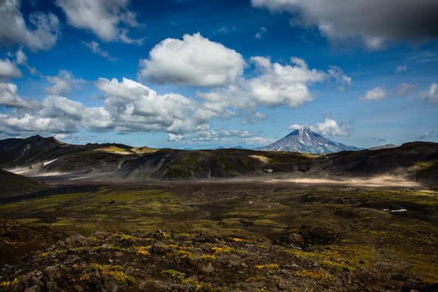 Volcans du Kamchatka - Péninsule du Kamchatka - Russie