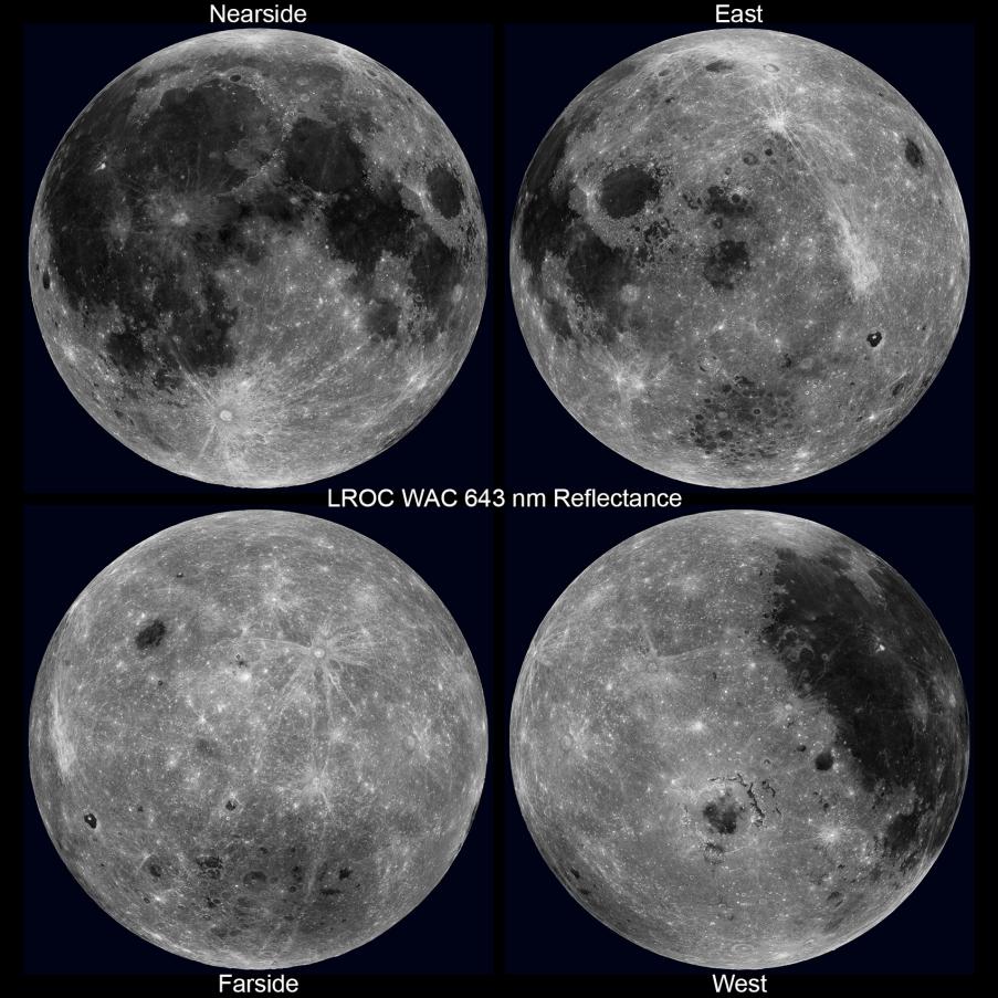 LRO et Lune