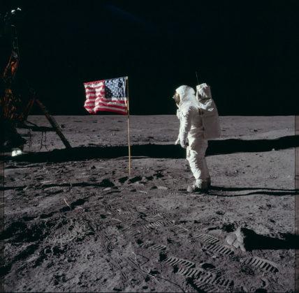 Apollo 11 LEM Drapeau