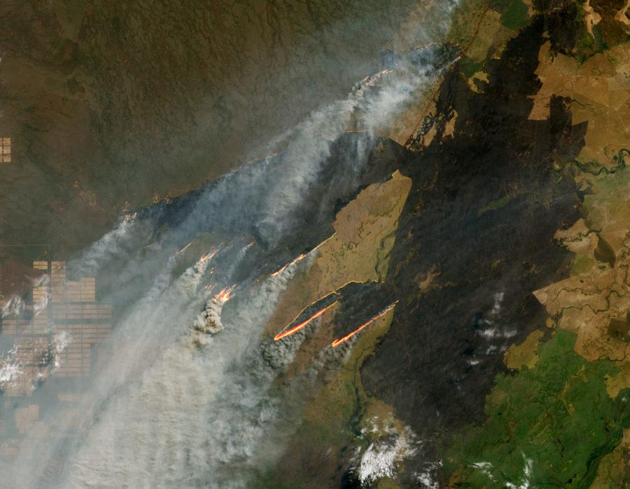 Incendies Amazonie