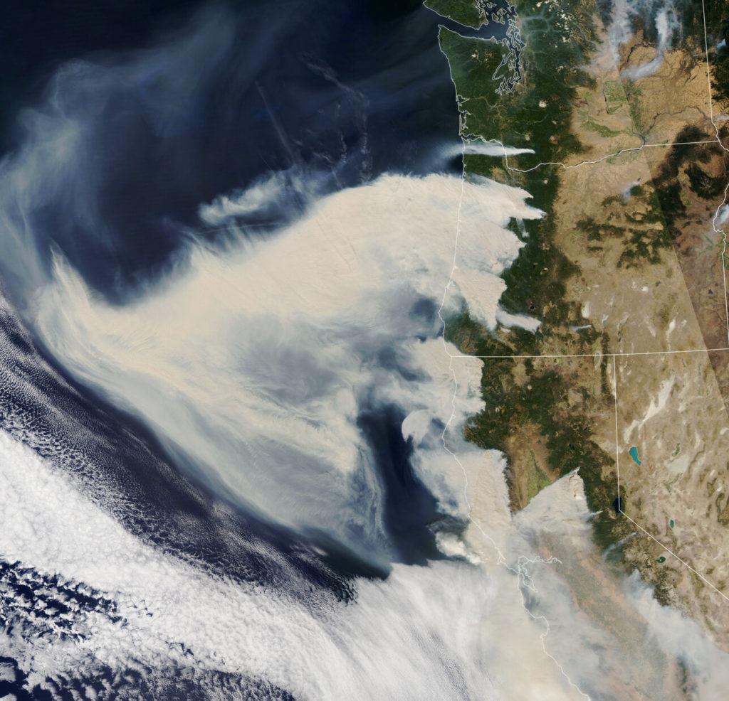 fumees incendies ouest americain saison 2020