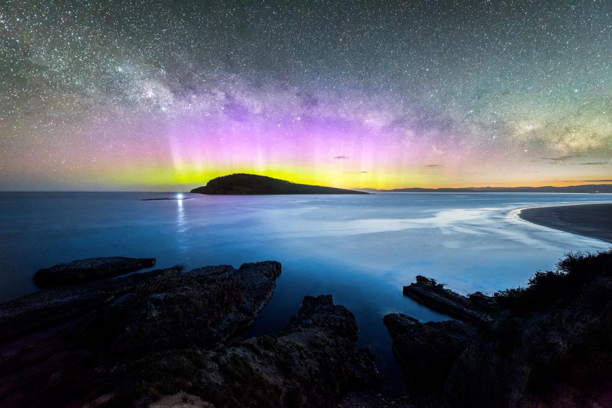 Une aurore australe